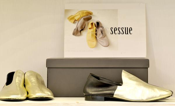 写真:「SESSUE(セッシュー)」の靴