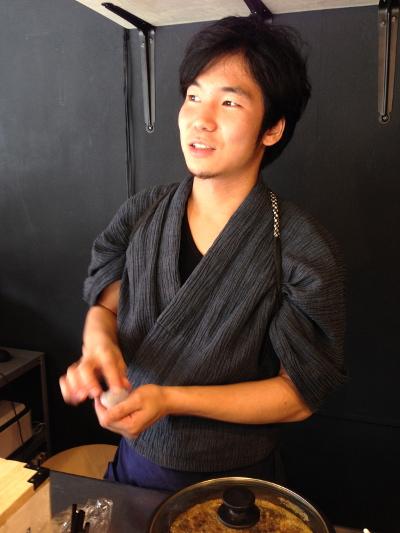 アメシン代表 飴細工師の手塚新理さん