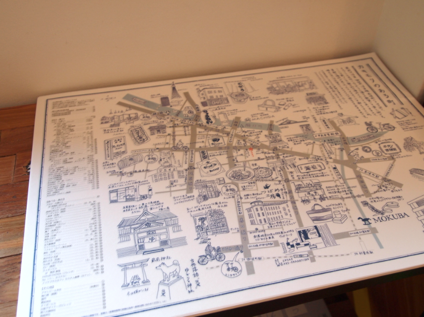 (写真:こちらが地図。「カキモリ」のwebサイトからもダウンロードできます)