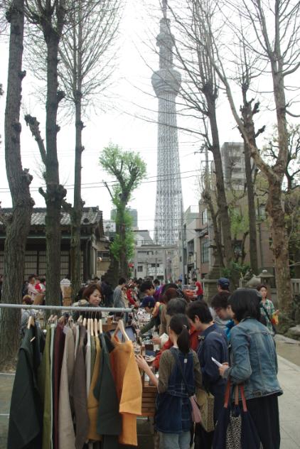 (写真:会場からは東京スカイツリーも望めます)