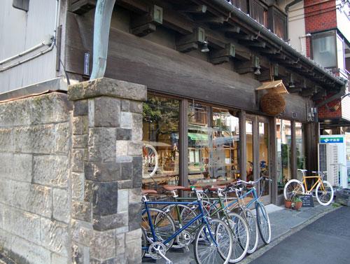 写真:tokyobike gallery 谷中(外観)