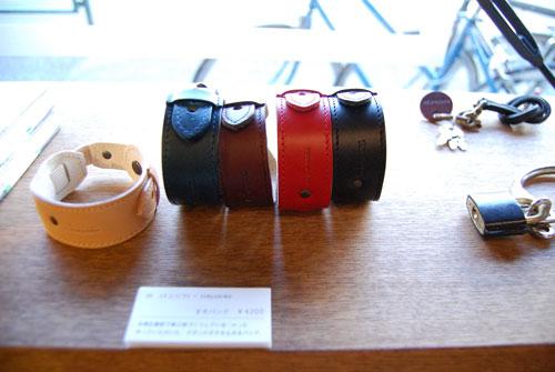写真:m+とtokyobikeのコラボ商品「裾バンド」