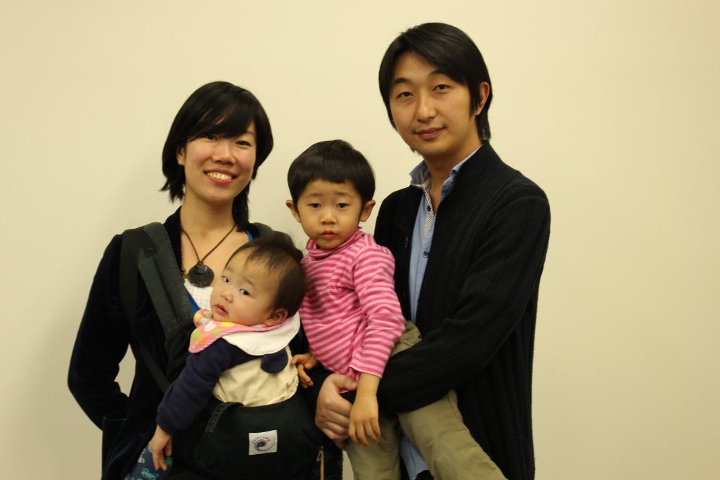 家族4人で「台東スタディーズ2・ファイナル」に参加