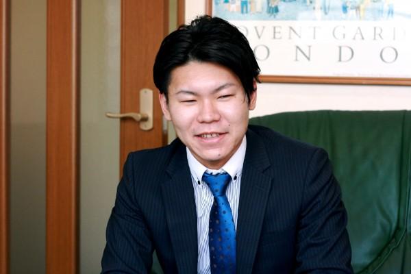 息子さんの青木真澄さん。親子2代で青木産業を盛り立てている