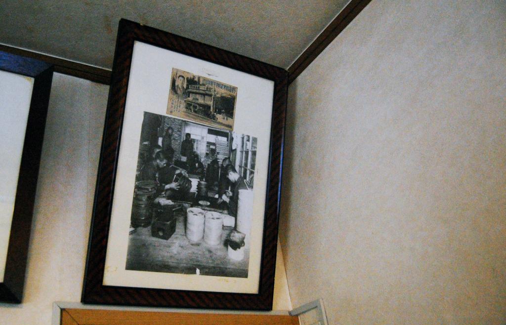 写真:元は上野に製作所を構えていた。住み込みの職人もおり、寝食をともにした「家族」だった