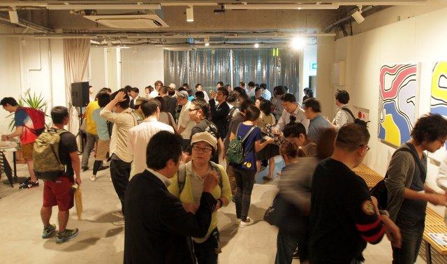 隅田川ジャンクションの交流時のヒトコマ