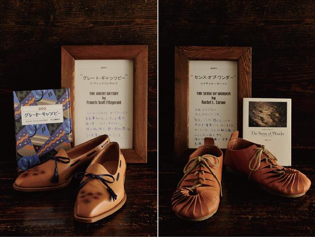 写真左がジェイ・ギャツビーをイメージされつくられ、右はレイチェル・カ−ソンをイメージしてつくられている