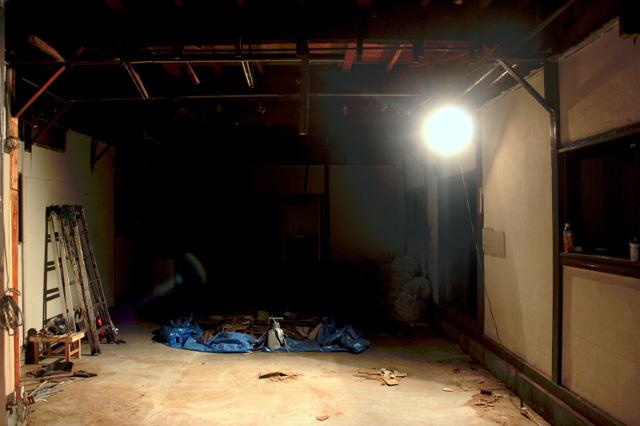 2013年9月、改修工事に入った直後(写真:ミツメ)