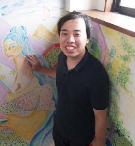 「TOLABL」の事業プロデューサー、土屋敬さん。自身も巣鴨のシェアハウスに住んでいます