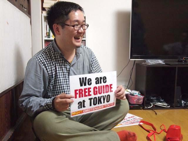 「もてなし家根津」を運営する岩嵜修平さん