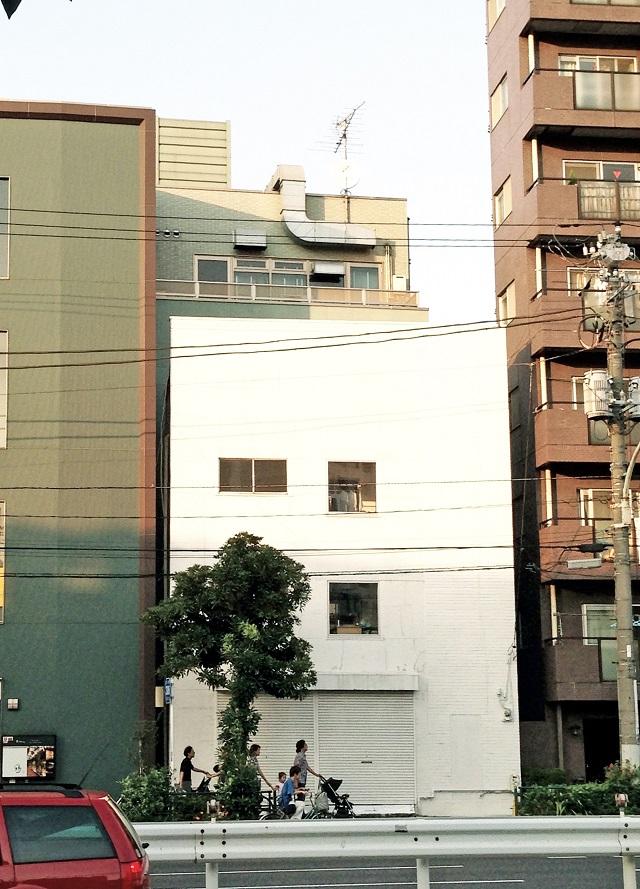 リノベーション済みの路面店つき4階建てビル/店舗兼住居/三ノ輪/17.5万①