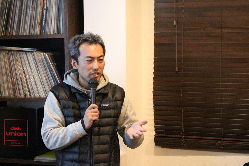 鹿野賢亮さん(写真:コウトーク運営委員会)