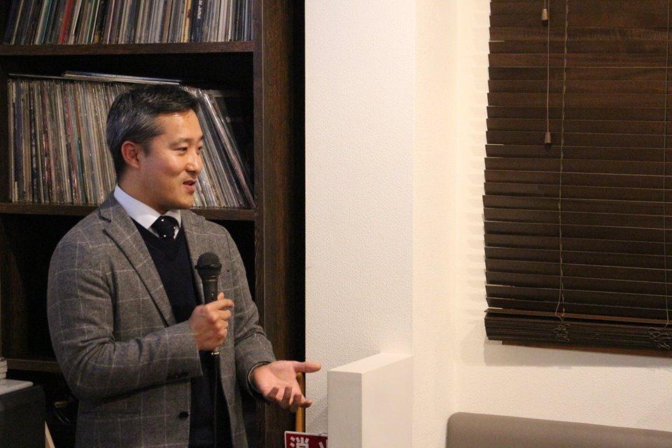 藤堂正健さん(写真:コウトーク運営委員会)