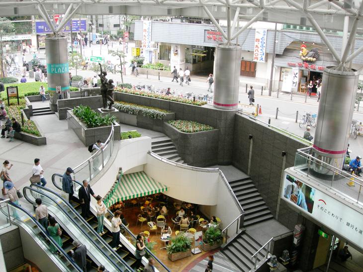 池袋駅に直結するメトロポリタンプラザ